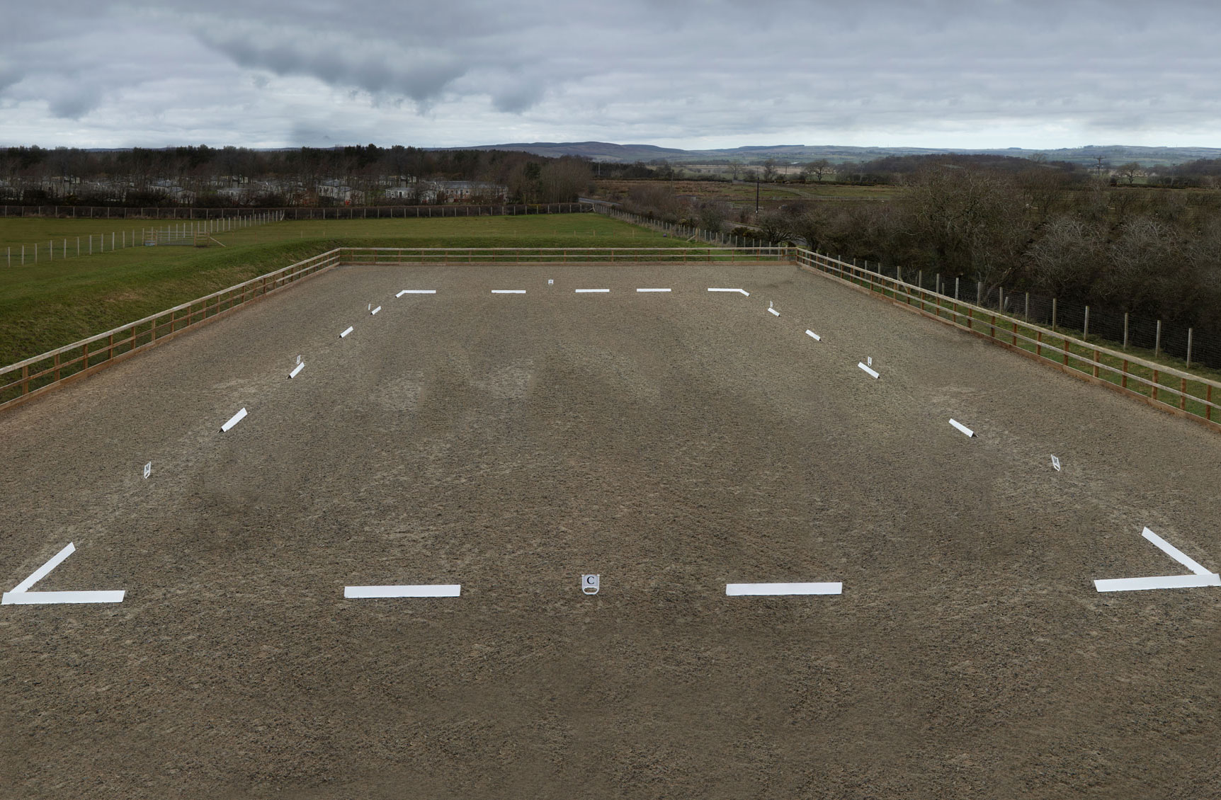 Westmoor Farm Outdoor Equestrian Areana